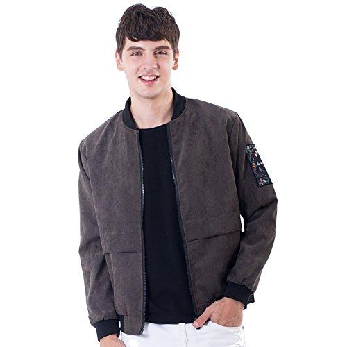 on Lined Corduroy Jacket Outwear Workwear Windbreaker 4XL Army Green (Wear Corduroy Jacket)