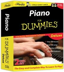 Piano For Dummies Deluxe (software - Reference / Lifestyle)
