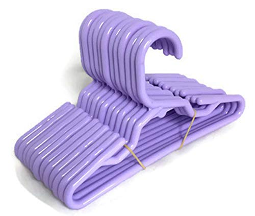 12 Lavender Hangers(1 Dozen) for 14 inch American Girl Wellie Wisher Doll Clothes