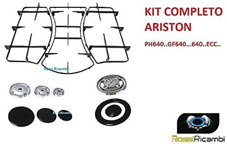 ariston kit rinnovo completo cucina spartifiamma griglie ph640mst amazonit casa e cucina