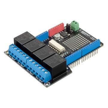 12V Relay Module - Arduino Relay Module - 4 Relay Shield Uno