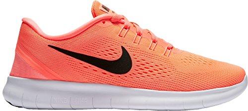 Nike Kvinders Fri Rn Løbesko Lyse Mango / Sort Dn2VpEnD