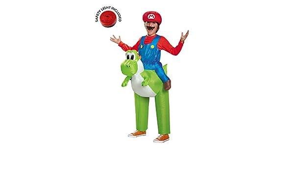 BuyCostumes Super Mario Ride a Yoshi - Disfraz Infantil Inflable ...