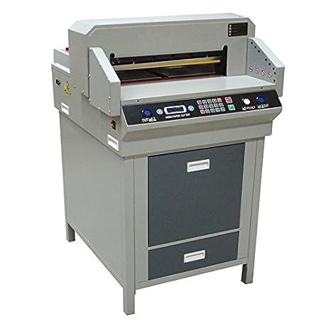 GOWE máquina de corte de papel guillotina, ancho de corte de Max: 480 mm: Amazon.es: Coche y moto
