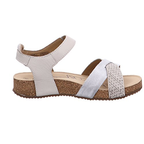 Donne Bianco Josef 49 Da Caviglia Seibel Sandali Fuori Delle Cinghia Tonga HrvH0q
