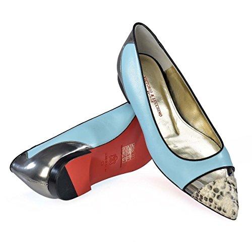 de Celeste Victorio y Mujer Zapato Plano amp; Lucchino Cerrado 471 zWqqArwRt