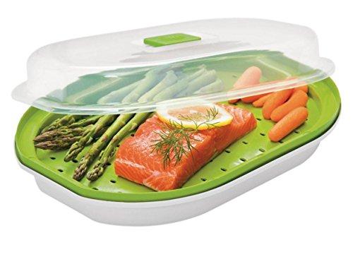 Prepworks Fish & Veggie Microwave Steamer