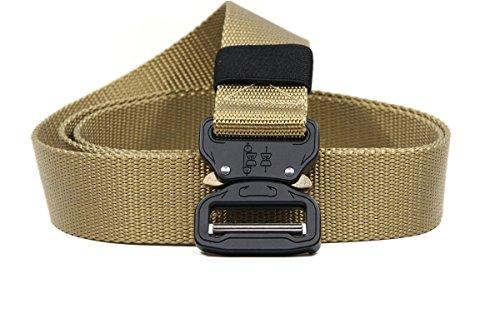 Junsong6637 Tactical Belts Shooters Molle Waist MilitaryQuick Release 1000D Nylon Webbing 1.5