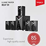 Impex 5.1 Beat B1 85 W Multimedia Bluetooth Speaker System (Black)