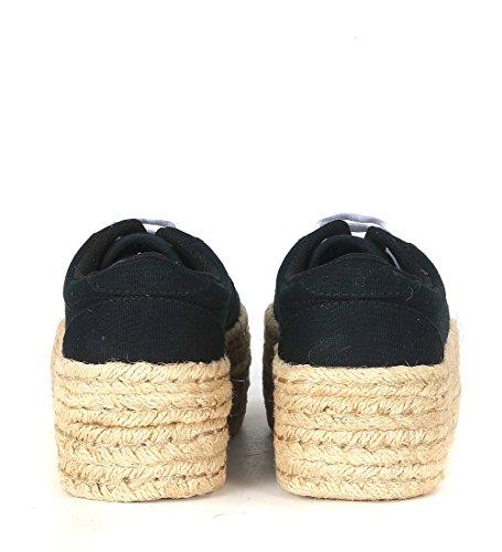 Piattaforma Zomg Sneakers Donna Nero Jute Jc Play Black HRqFxtn1w