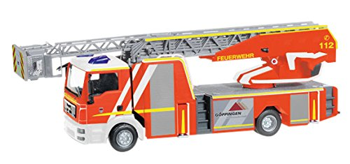 Herpa 93064Man TGM Metz Drehleiter 32 XS Feuerwehr G/öppingen Miniaturfahrzeug
