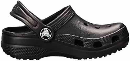 Crocs Kids Classic Clogs, Black 1