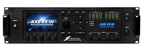 【格安saleスタート】 FRACTAL B07F57SH8H AUDIO SYSTEMS フラクタル フラクタル Axe-Fx SYSTEMS III ギタープリアンプ/エフェクトプロセッサー B07F57SH8H, 水着のハッピークローゼット:70a7c21f --- umniysvet.ru