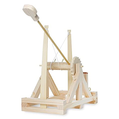 Thumbs Up! Da Vinci Catapult Kit, Wood - Demonstration Kit