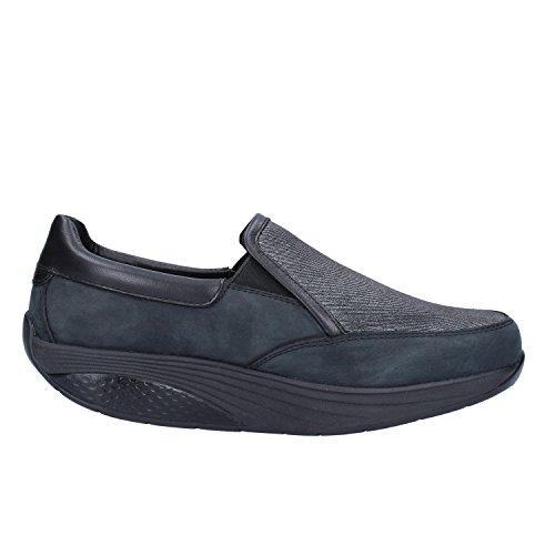MBT Sneakers Damen 37 EU Schwarz Nubuk Textil