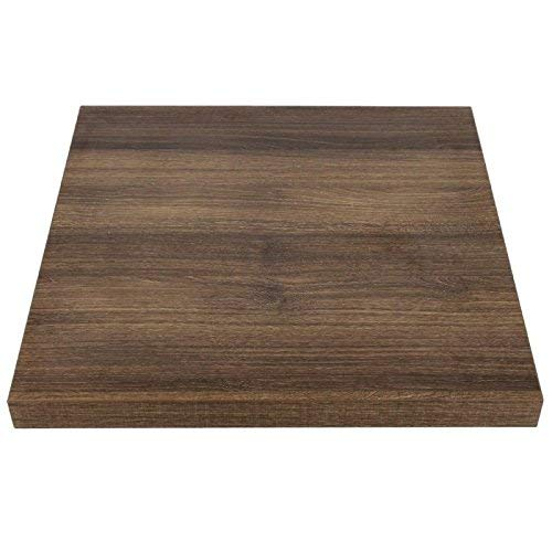 Bolero GR324 Table Top 600 mm Square Rustic Oak 48 mm