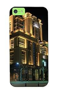 Judasslzzlc High Quality Shock Absorbing Case For Iphone 5c-malaysia Houses Putrajaya Street Night Cities