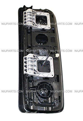 Door Mirror Power Heated Chrome Cover Driver Side Fit: Volvo VNL 670 780 630 730 860, VNM 200 430 630, VNX 300 Trucks