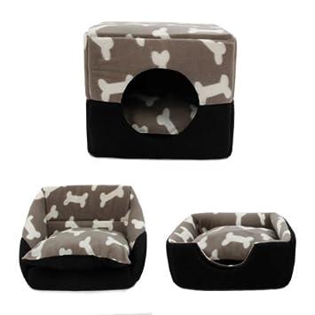 HongGXD Sofá Cama súper cálido para Mascotas Sofá Cama para Mascotas, Cama Cubo para Perros