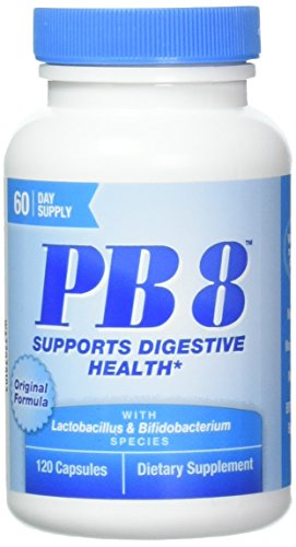 Nutrition Now Pb 8 Pro-biotic Acidophilus for Life - 120 Capsules X 2