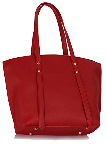 UK SAVE Red FREE DELIVERY Gorgeous 50 Tote Bag Women's Large wAxd8aqY