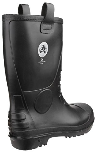 FS90 Waterproof PVC Pull on Safety Rigger Boot UK 8 EU 42