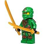 LEGO-Ninjago-Minifigure-Lloyd-with-Zukin-Robe-Green-Ninja-2105