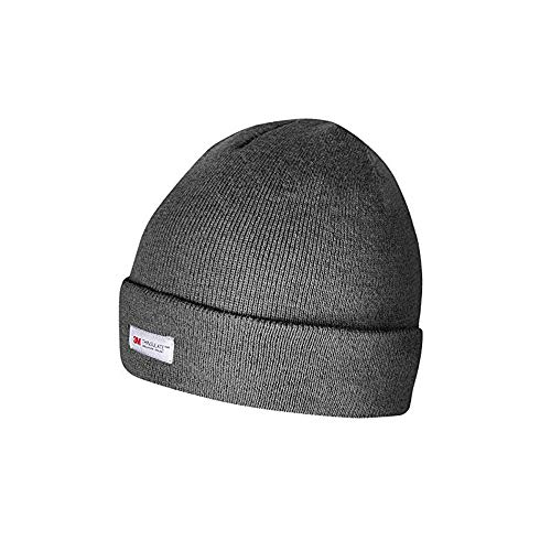 Evridwear Winter 3M Thinsulate Thermal Hat, Fleece Lined Beanie for Running, Skiing,Motorcycle & Bikes for Men and Women (Coal)