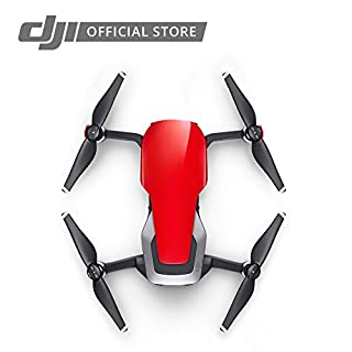 DJI Mavic Air, Flame Red Portable Quadcopter Drone