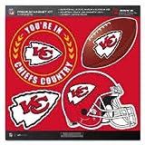 NFL Kansas City Chiefs Magnet Set (4 Piece), Red