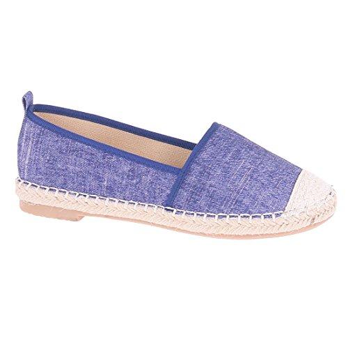 CATISA-bal3_fd188-Bailarinas para mujer Azul - azul