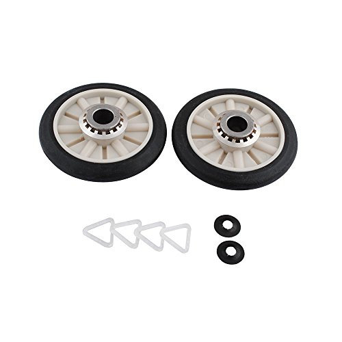349241T Rear Drum Support Roller Kit for Whirlpool ()