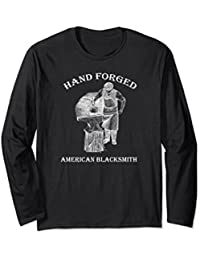 Hand Forged American Blacksmith Long Sleeve Shirt