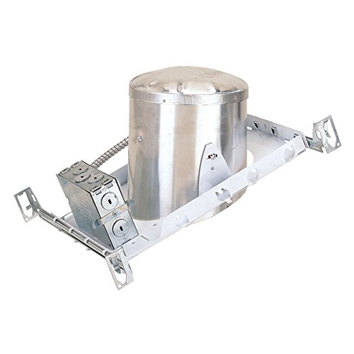 6 Pack 6'' Slope New Construction LED Can Air Tight IC Housing Recessed Lighting by Four Bros Lighting (Image #1)