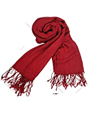 Anime Cospaly Scarf Cosaply Scarf Mikasa Ackerman Wine Red Cashmere Scarf