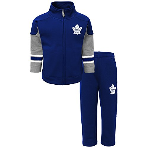 to Maple Leafs Children Boys Shutdown Jacket & Pantss Set, Large(7), Dark Blue ()