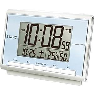 SEIKO CLOCK (セイコークロック) 目覚し時計 デジタル 電波時計 SQ698L