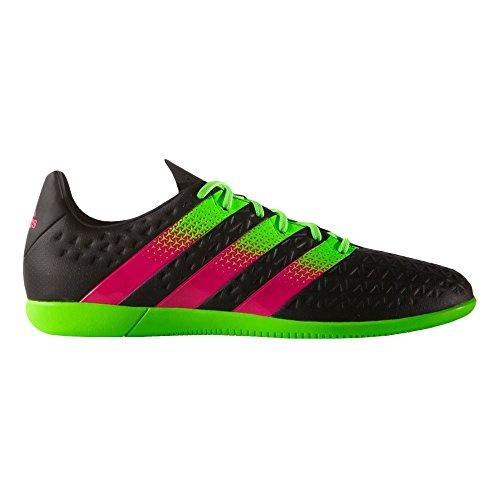 adidas Ace 16.3en J–cblack/shopin/sgreen, schwarz grün pink (core black/sgreen/shock pink), 36