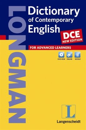 Longman Dictionary of Contemporary English (DCE) - New Edition - Buch (kartoniert) mit DVD-ROM (Einsprachige Wörterbücher)