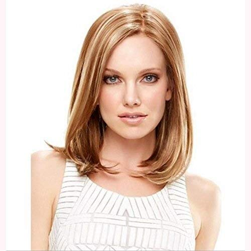 XISAY Silk wigs in the sub-Liu Hai short hair Sexy Lady Full Wig Natural Color Heat Resistant Cheap For Party Wigs Daily Dress High Density XISAY