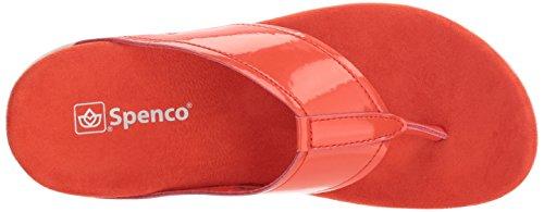 Flip Cherry Tomato Sandal Women's Hampton Flop Spenco qwZv1C