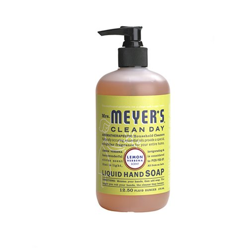 (Mrs. Meyer's Clean Day Liquid Hand Soap, Lemon Verbena, 12.5 Ounce Bottle)
