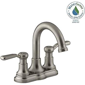 Kohler Worth 4 In Centerset 2 Handle Bathroom Faucet In