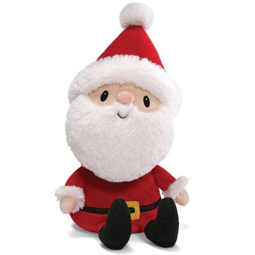 amazoncom gund winter wonderland santa claus plush 12 toys games - Stuffed Santa Claus