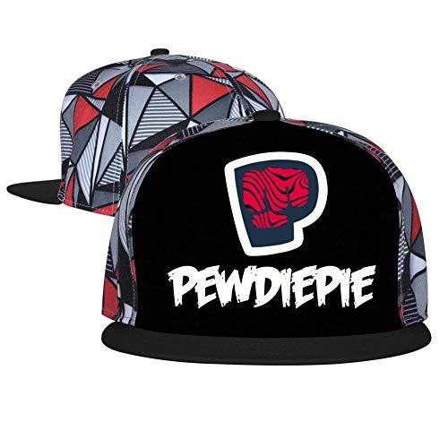 Top Level Plain Brofist_Pewdiepie Baseball Cap Women Men Adjustable Cotton Snapback Hats Hip Hop Unisex Sports Bill Black -