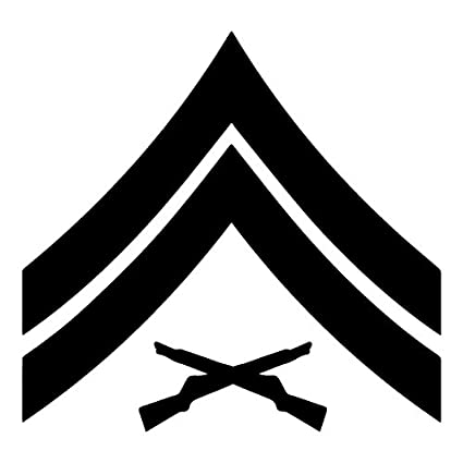 Amazon United States Marine Corps Usmc Chevron Rank Insignia