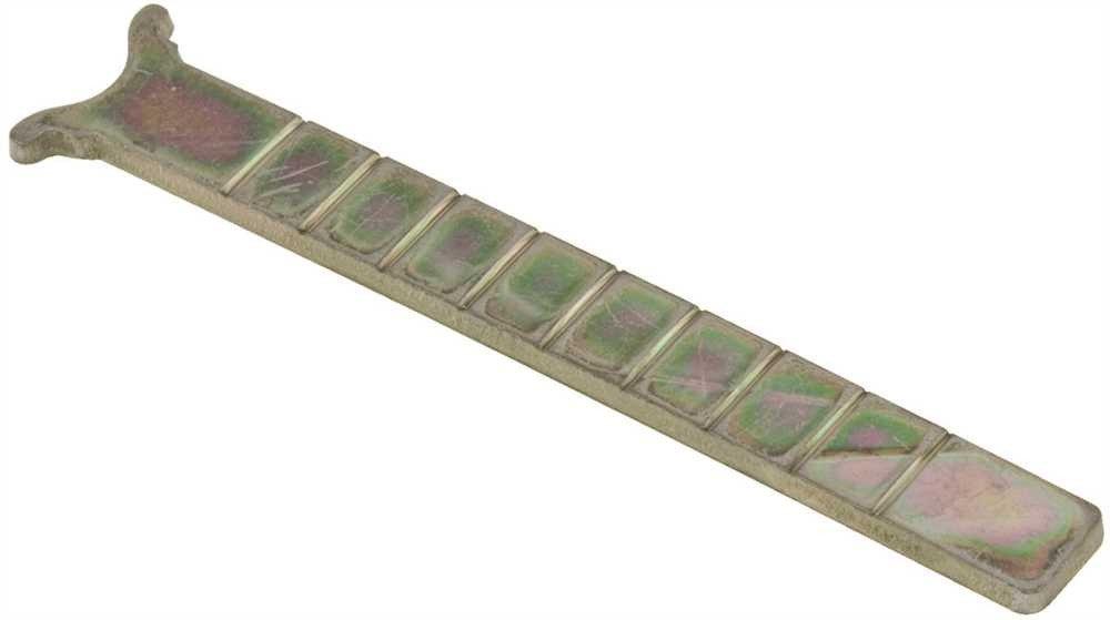 U.S. Lock Extra-Long Replacement Rim Tailpiece