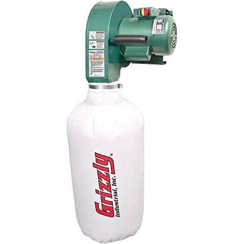 Grizzly Industrial G0710-1 HP Wall Hanging Dust Collector