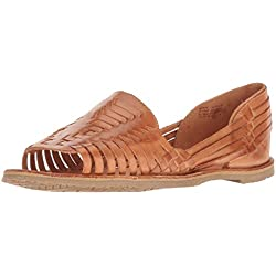 Sbicca Women's Jared Huarache Sandal, Tan, 10 B US