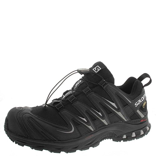 Hiking Pewter Men Shoes Salomon Black Rise Low x7aq6wAF
